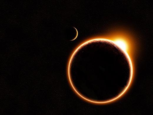 Солнечное затмение с точки зрения астрономии