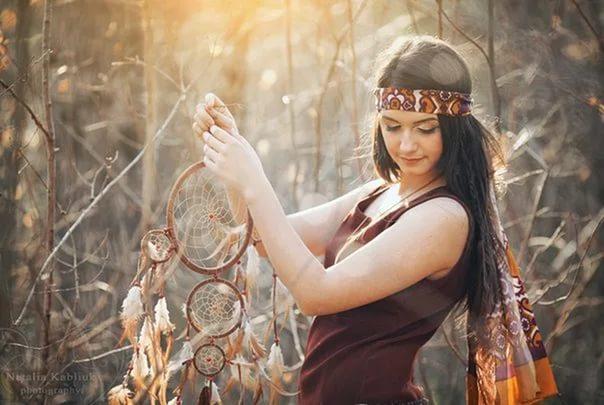 Ловец снов: оберег индейцев Северной Америки против плохих снов