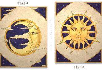 Типы людей: солнечные и лунные