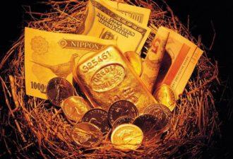 Золотые настрои на деньги