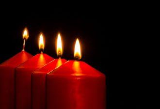 Очищающие заговоры на пламя свечи