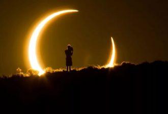 Лунное и Солнечное затмения в августе 2017 года