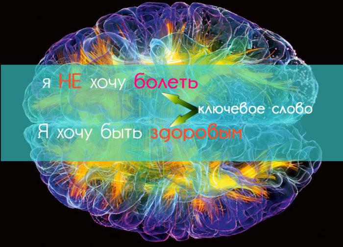 Наше подсознание НЕ может воспринимать частицу «НЕ»