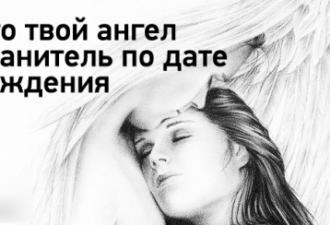 Кто твой ангел-хранитель по дате рожденияКто твой ангел-хранитель по дате рождения