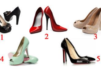 Выбранные туфли расскажут насколько женщина хороша в глазах и руках мужчины