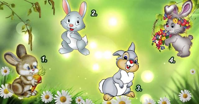Выберите зайку и читайте предсказание на весну!