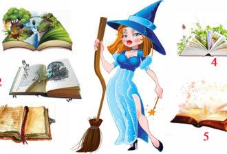 Добрая волшебница даст совет на будущее по выбранной магической книге