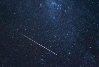 Звездопад Лириды с 16 по 25 апреля 2018 года