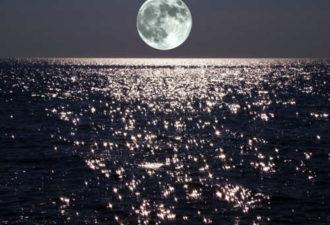 Убывающая Луна в августе 2018 года