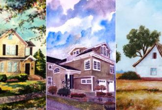 Выберите дом, в котором вы хотели бы жить, и узнаете о своих чертах характера!