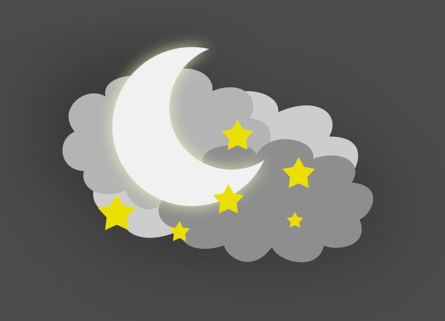 Убывающая Луна в сентябре 2018 года