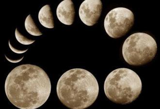 Растущая Луна в ноябре 2018 года