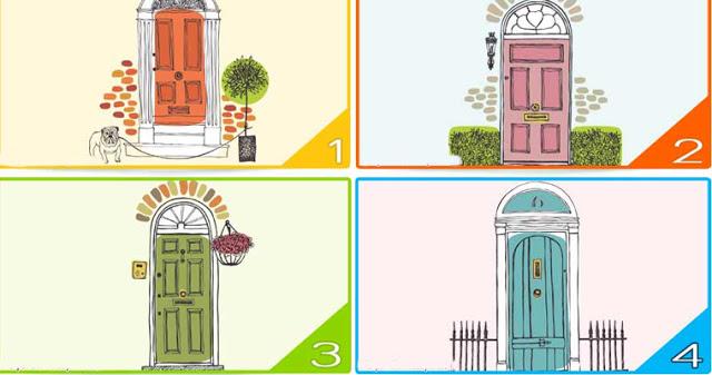 Личностный тест: какую дверь вы выбираете?