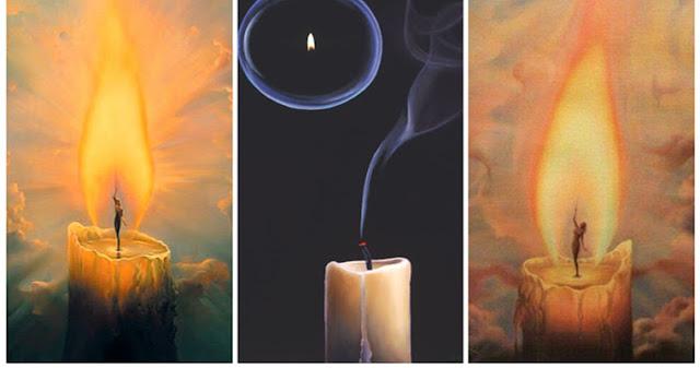 Выберите свечу и получите послание от Вселенной!