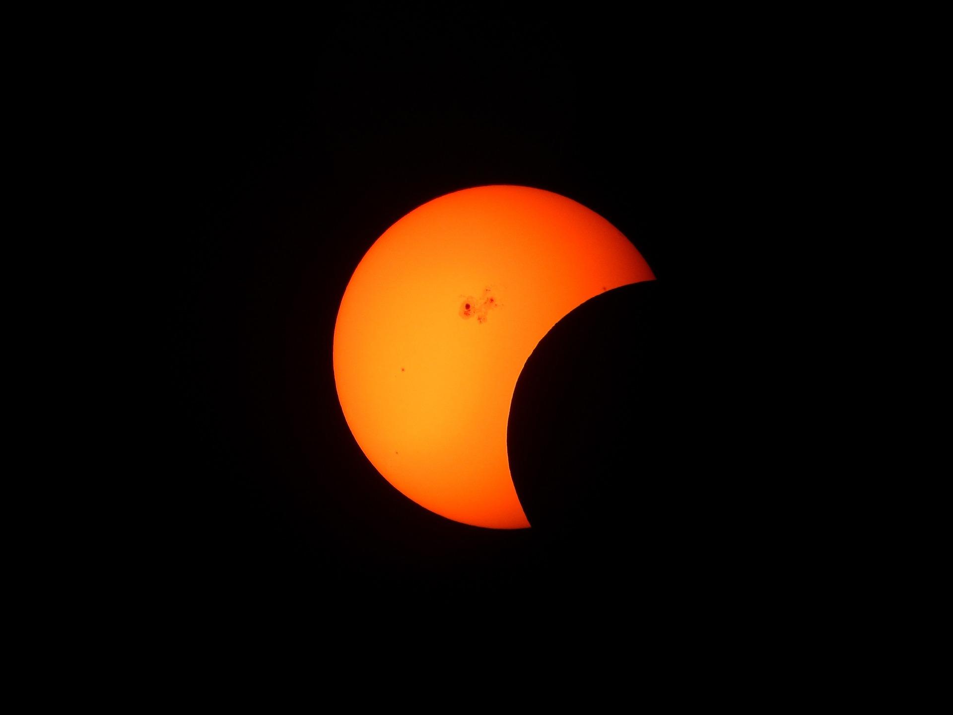 Солнечное затмение 6 января 2019 года