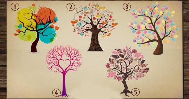Дерево, которое вы выберете, расскажет о вашем жизненном пути